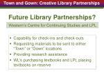 future library partnerships