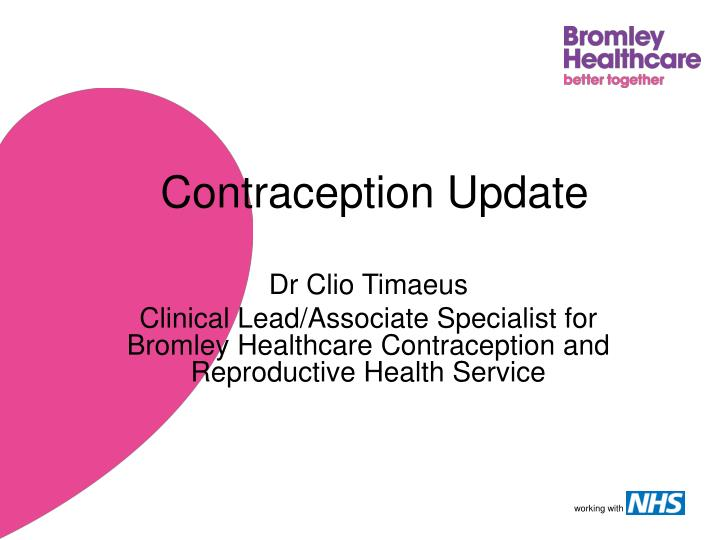contraception update n.