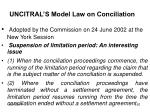 uncitral s model law on conciliation