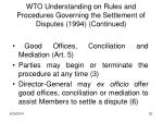 wto understanding on rules and procedures governing the settlement of disputes 1994 continued1