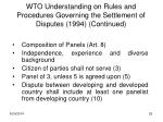 wto understanding on rules and procedures governing the settlement of disputes 1994 continued3