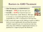 barriers to amd treatment