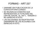 formas art 237
