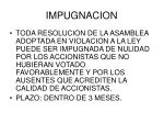 impugnacion