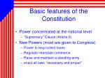 basic features of the constitution1