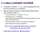 findmax example revisited