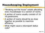 housekeeping deployment1