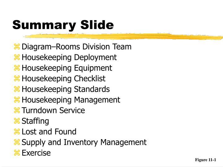summary slide n.