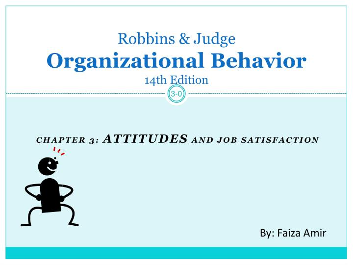 robbins judge organizational behavior 14th edition n.