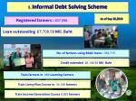 1 informal debt solving scheme