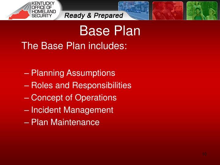 Base Plan