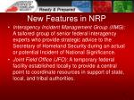 new features in nrp2