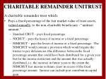 charitable remainder unitrust
