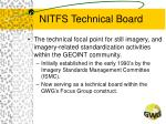 nitfs technical board