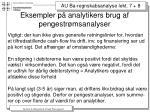 eksempler p analytikers brug af pengestr msanalyser6
