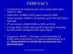 evar trial 1