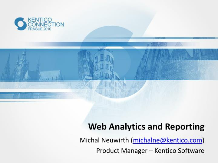 web analytics and reporting n.