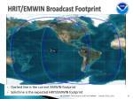 hrit emwin broadcast footprint