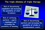 the triple dilemma of triple therapy