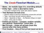 the create flowchart module cont d