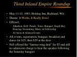 third inland empire roundup