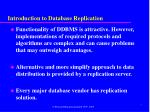 introduction to database replication