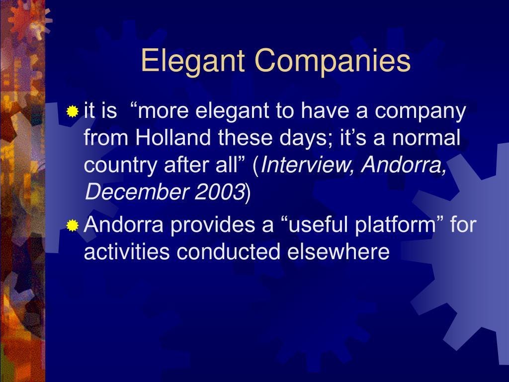 Elegant Companies