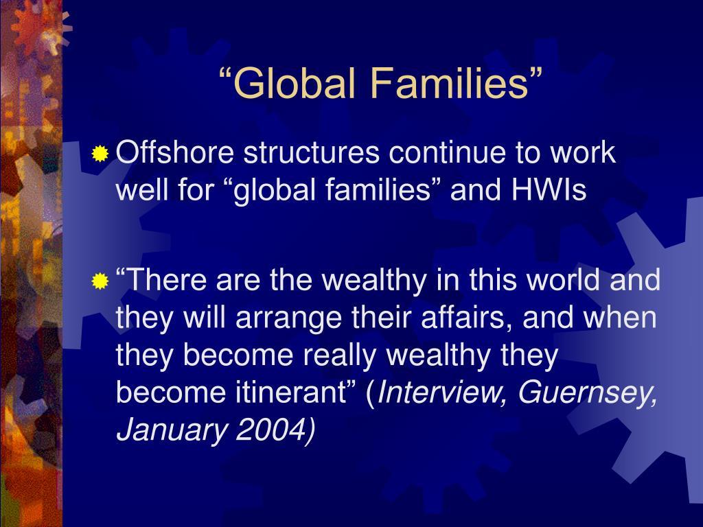 """Global Families"""