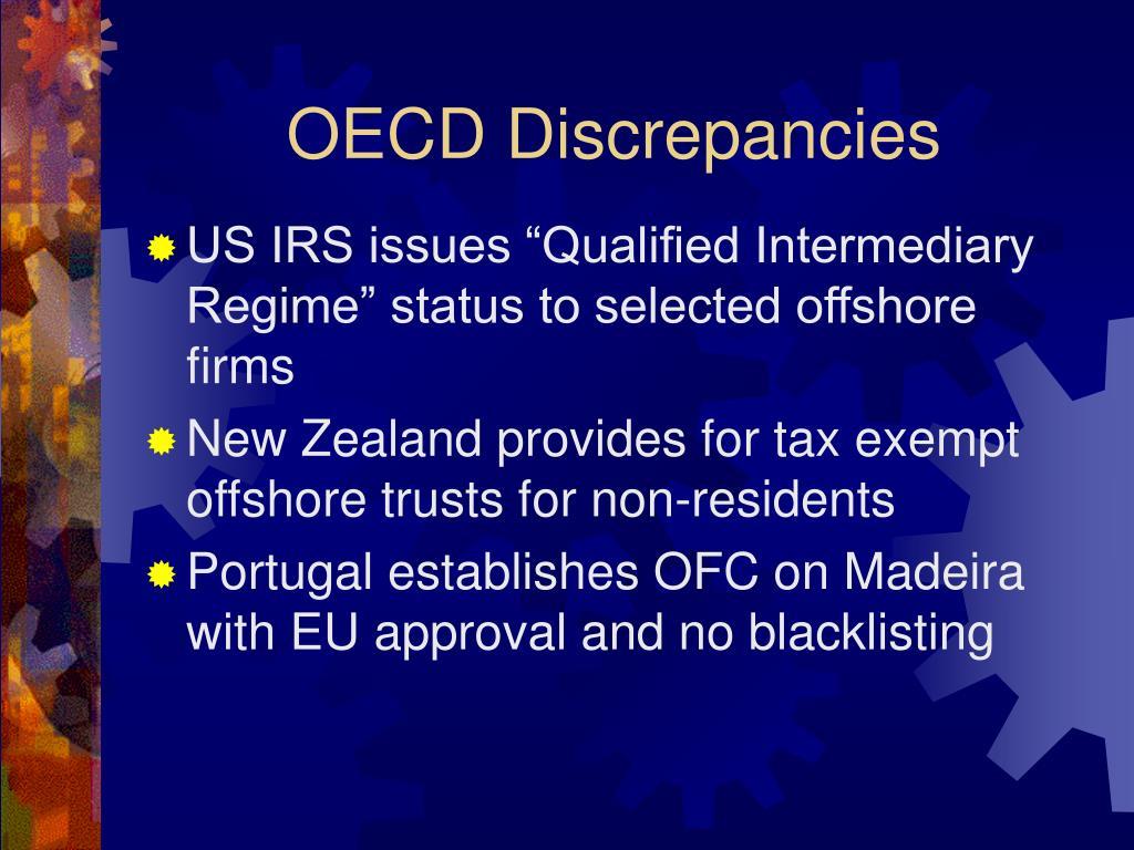 OECD Discrepancies