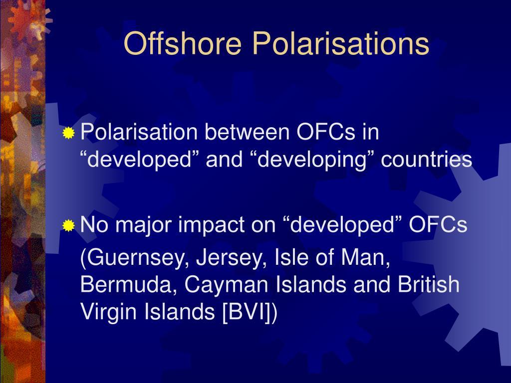 Offshore Polarisations