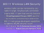 802 11 wireless lan security
