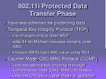 802 11i protected data transfer phase