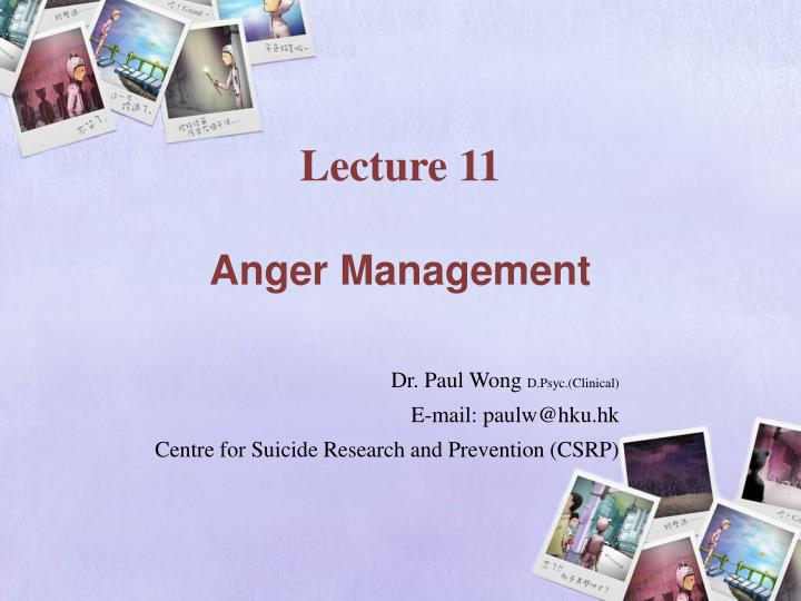 lecture 11 anger management n.