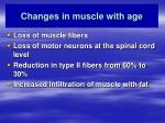 changes in muscle with age