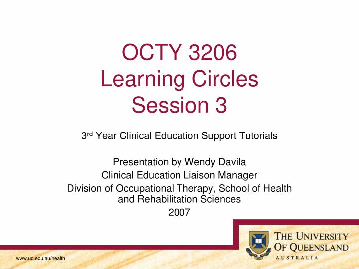 octy 3206 learning circles session 3 n.
