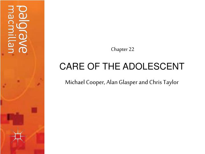 care of the adolescent n.