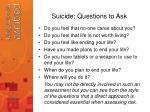 suicide questions to ask