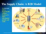 the supply chain a b2b model2