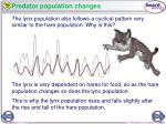 predator population changes