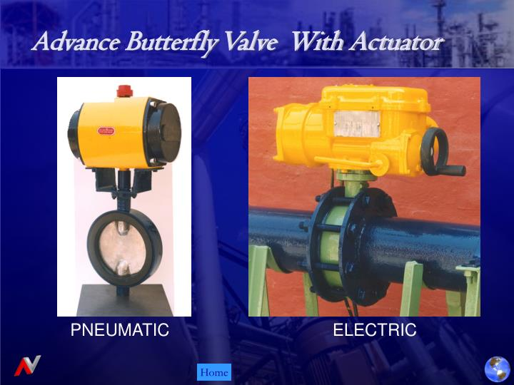 Advance Butterfly Valve  With Actuator