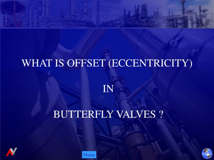 WHAT IS OFFSET (ECCENTRICITY)