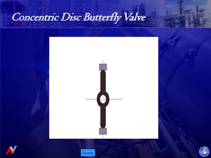 Concentric Disc Butterfly Valve