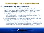 texas margin tax apportionment51