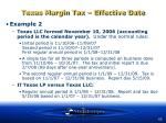 texas margin tax effective date63