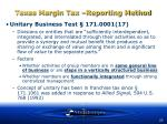 texas margin tax reporting method23