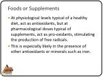 foods or supplements7