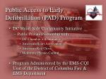 public access to early defibrillation pad program1