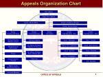 appeals organization chart