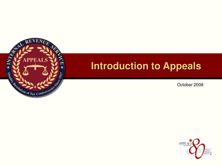 introduction to appeals n.