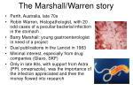 the marshall warren story